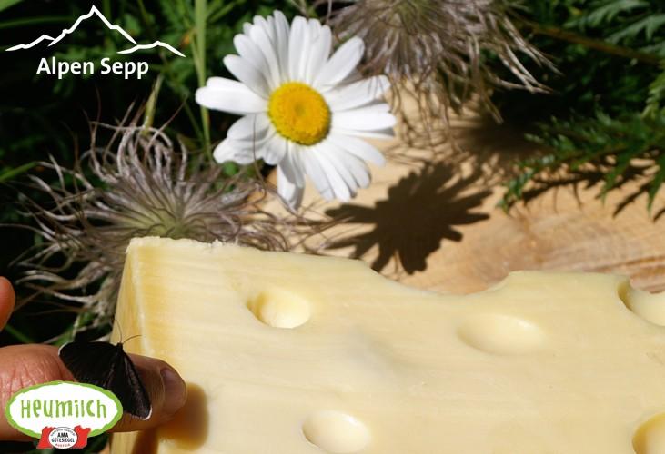 Emmentaler Käse Alpenwiese