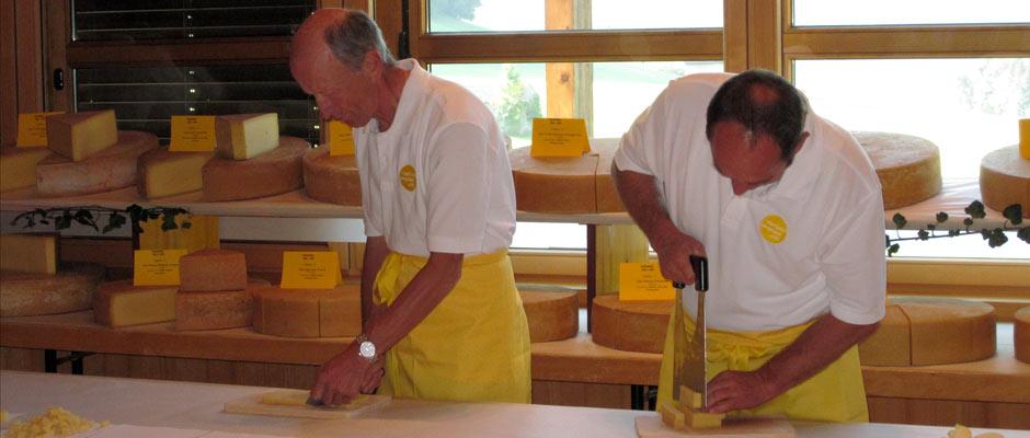 Käseprämierung Schwarzenberg