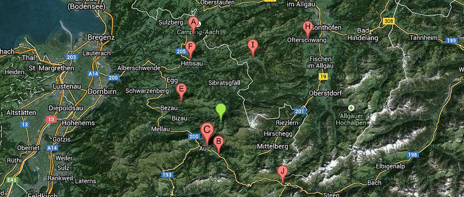 Sennereien im Bregenzerwald
