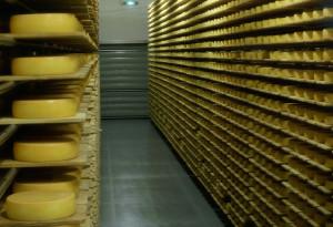 Käse aus dem Sennereikeller
