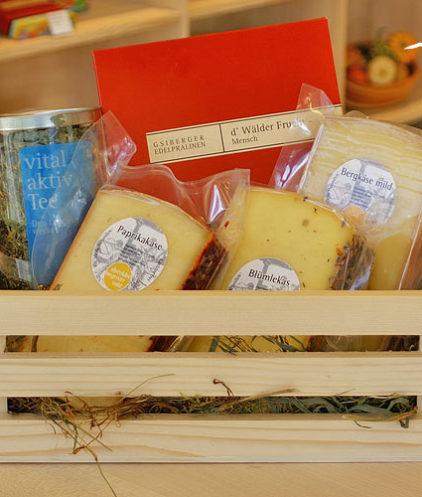 Geschenkbox Mensch- Tee trifft Praline