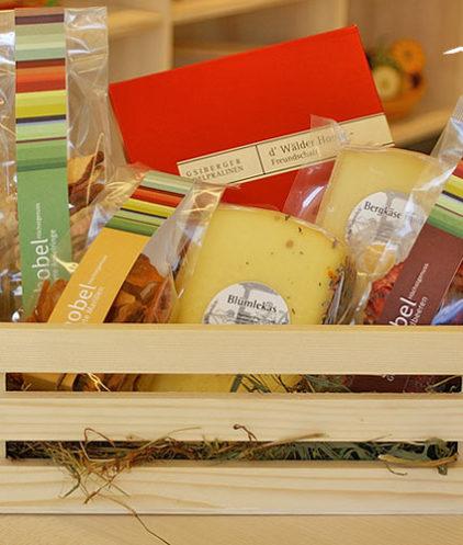 Geschenkebox Freundschaft mit Trockenfrüchten