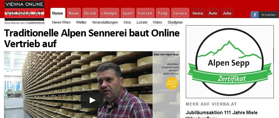 Alpensepp Käse Bericht Vienna Online