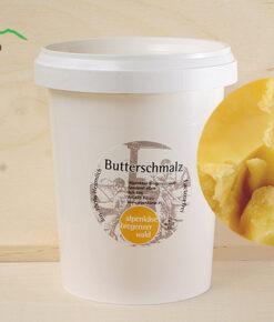 Echtes Butterschmalz geklärt