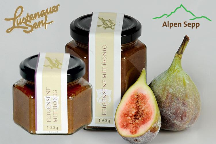 Lustenauer Senf Feige mit Honig