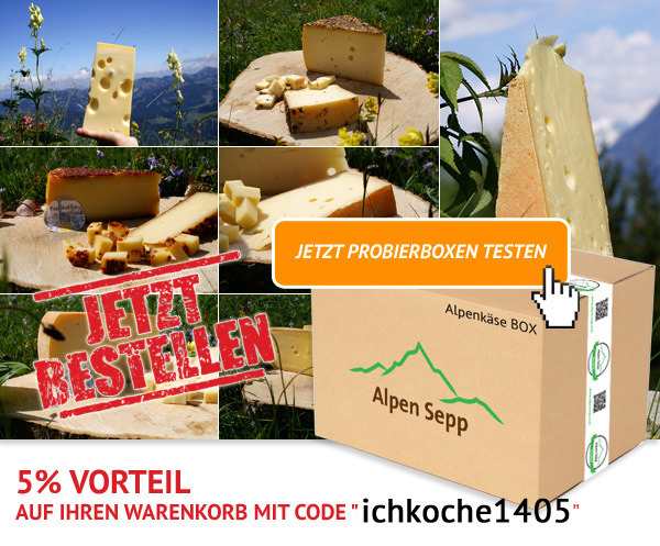 Premium Alpenkäse vom Alpen Sepp JETZT kennenlernen