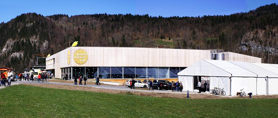Eröffnungsfeier Sennerei