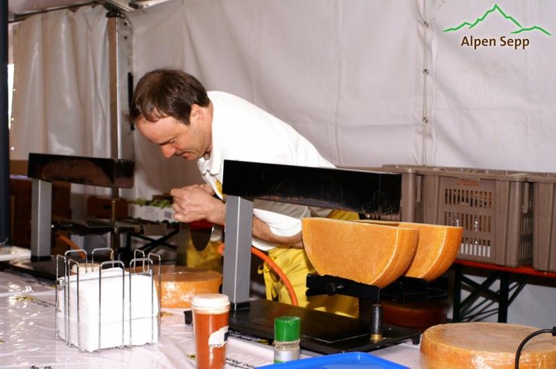 Raclette - immer ein Genuss