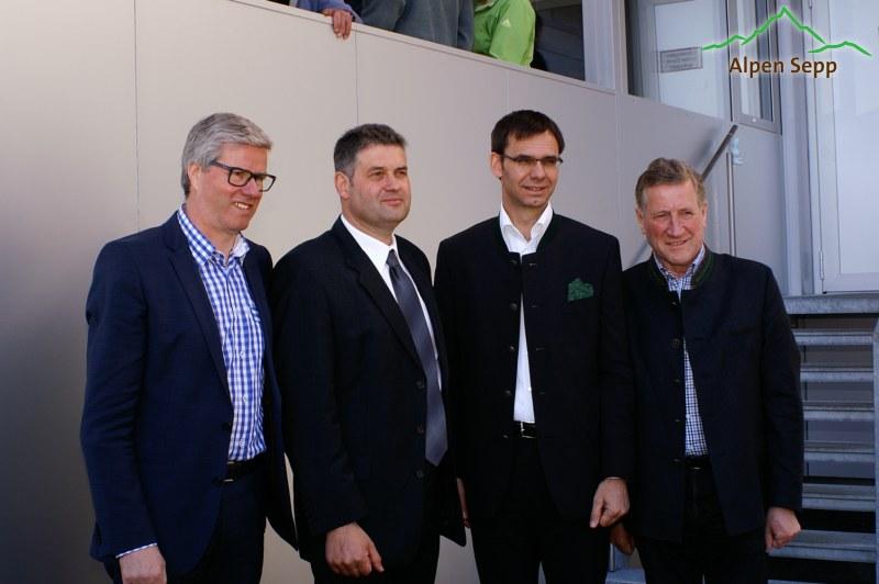 Gruppenfoto Ehrengäste
