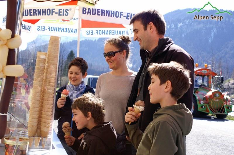 Bauernhof Eis - lecker