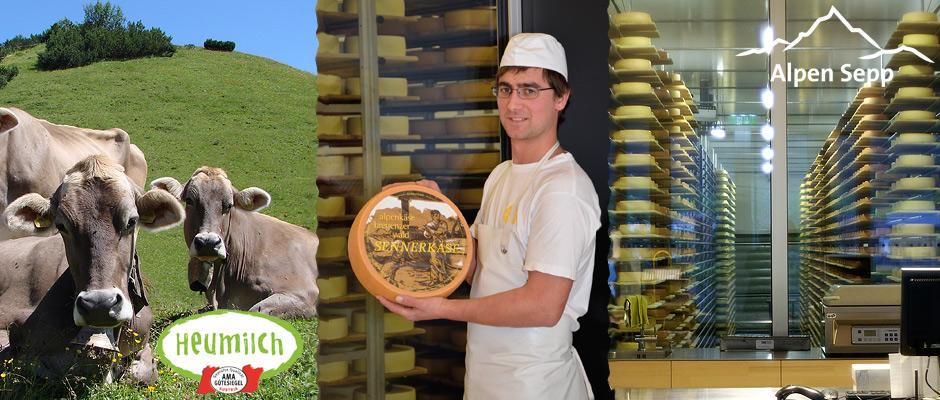 Vorteile Käse Direktverkauf von der Sennerei