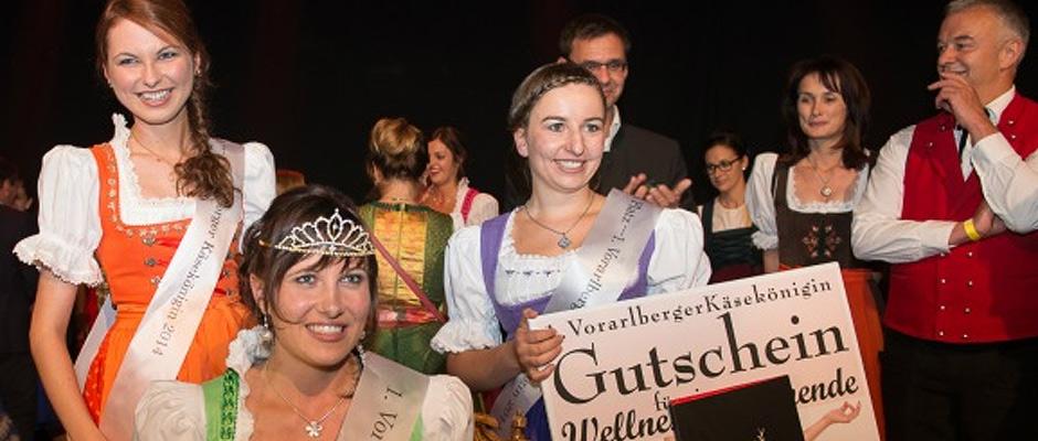 1. Vorarlberger Käsekönigin