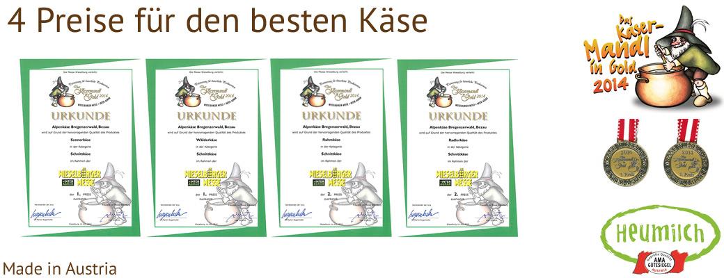 Kasermandl Käse 2014