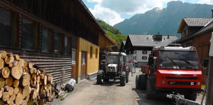 Urlaub am Bauernhof - Motoren und Technik!