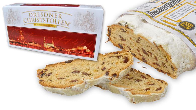 Original Dresdner Christstollen in der edlen Kartonbox
