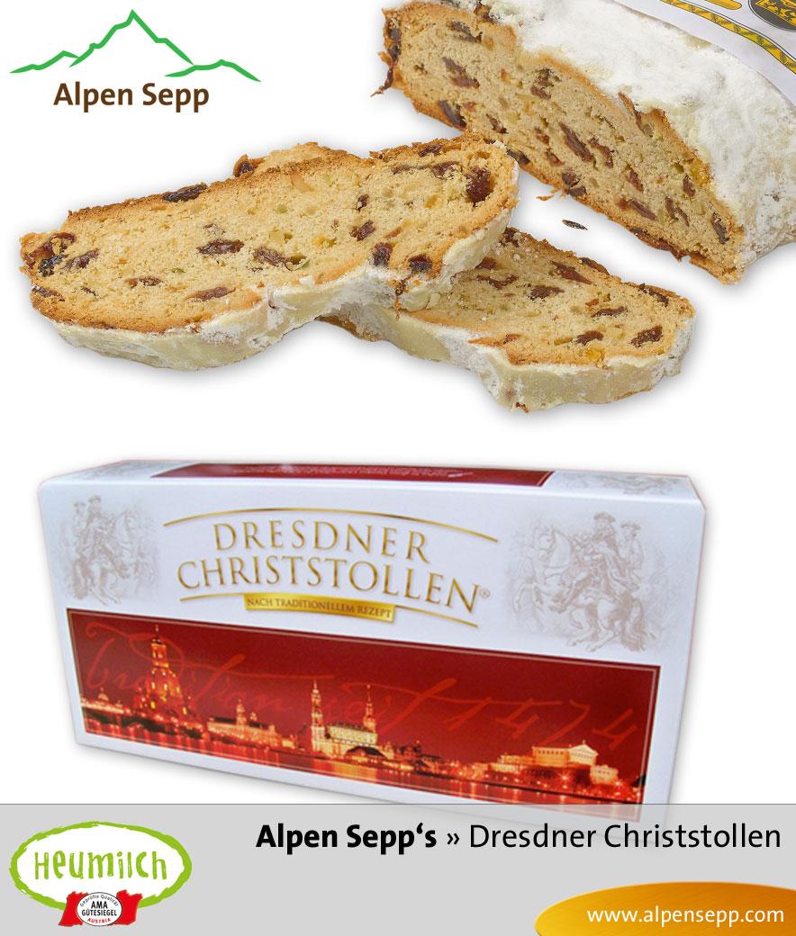 Original Dresdner Christstollen in der Kartonbox