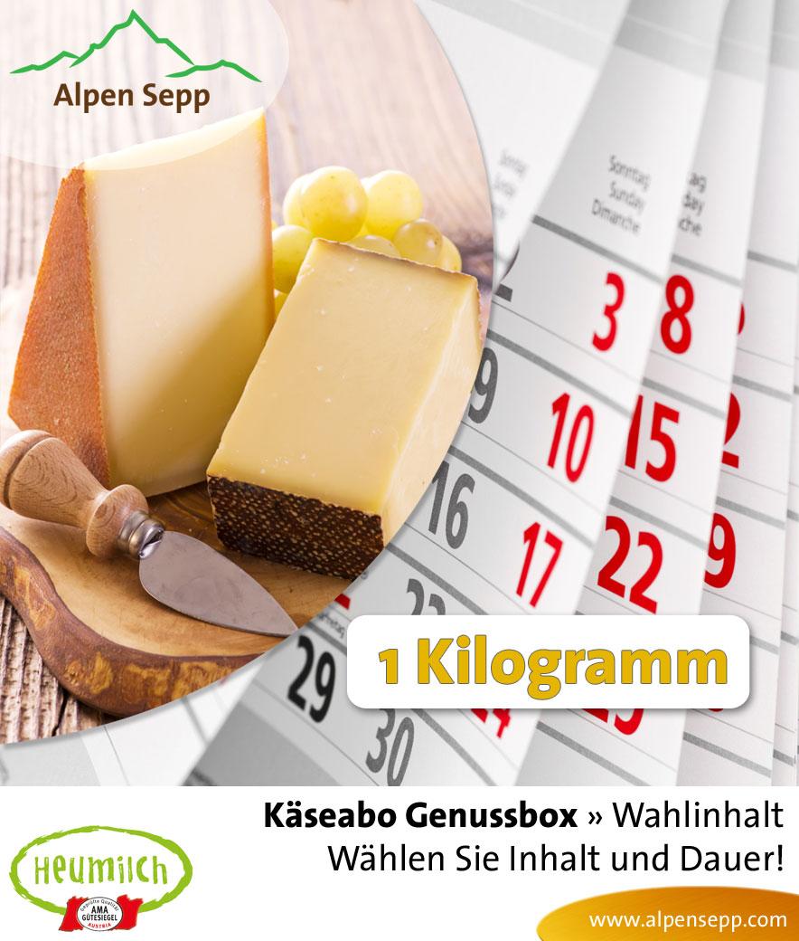 1 kg Genussbox Käseabo mit Wahlinhalt