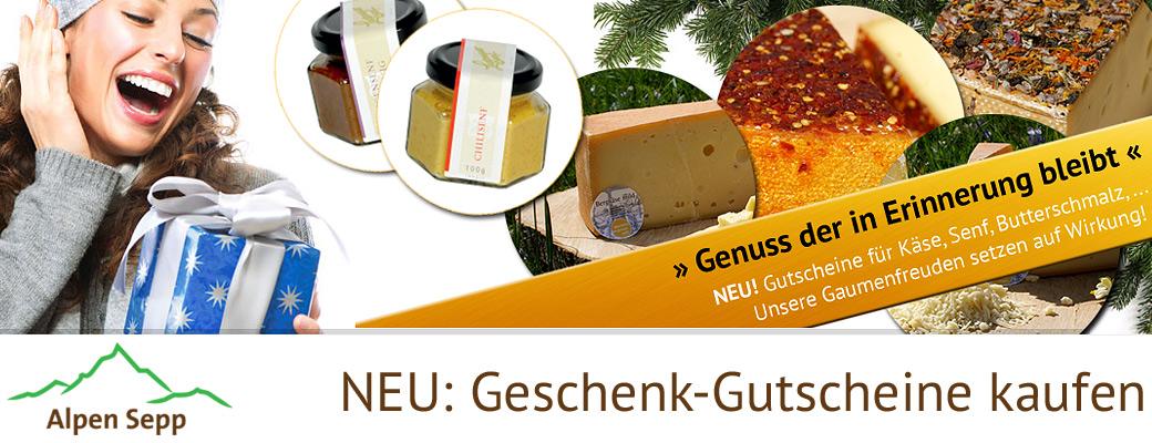 Online Shop Geschenk Gutscheine