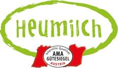 Heumilch Logo mit AMA Gütesiegel