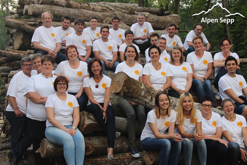 Team der Sennerei alpenkaese bregenzerwald