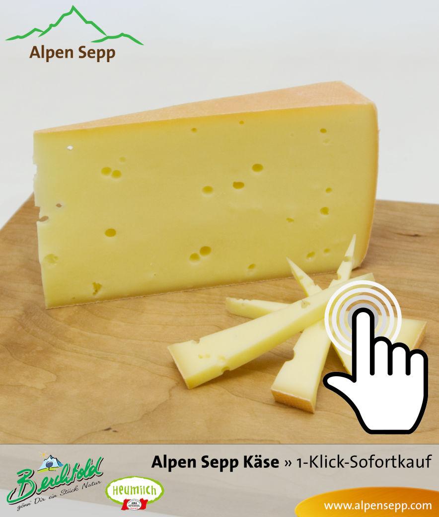 "Bregenzerwälder Käse Sonderedition ""ALPEN SEPP"""
