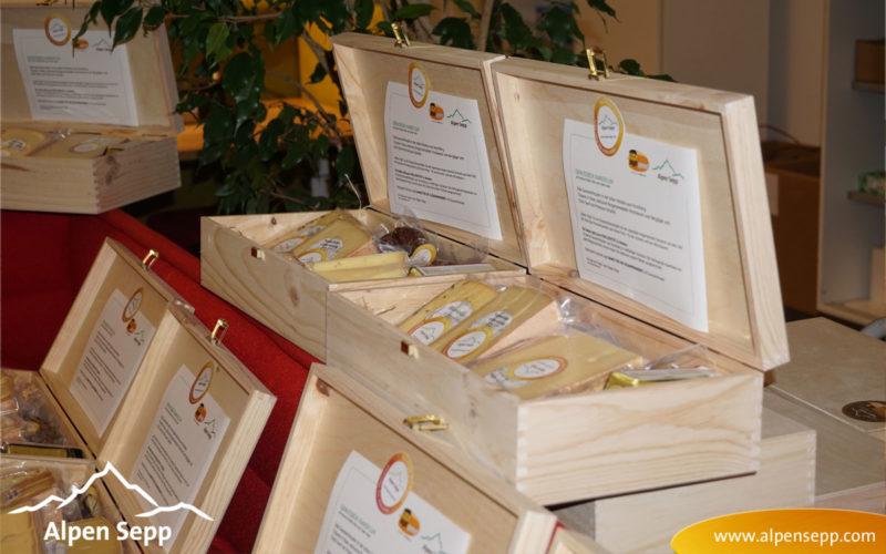 Auslieferung der ersten Genussboxen Kanisfluh als B2B Firmenkundengeschenk