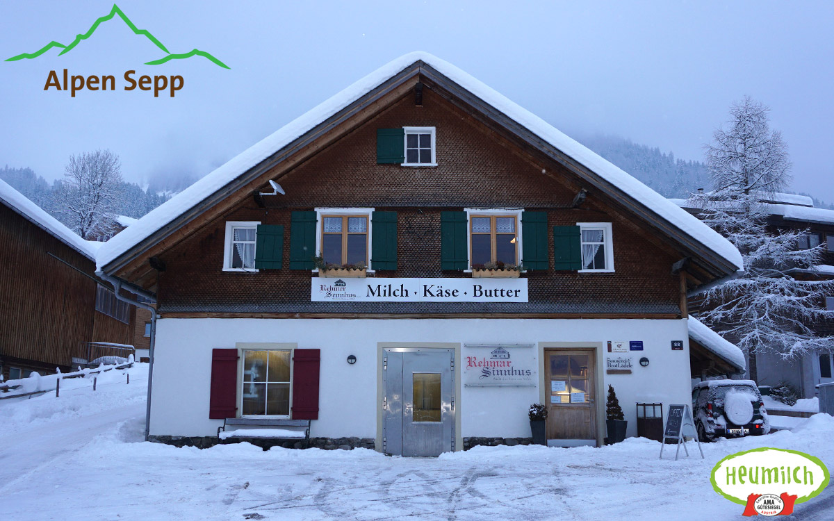 Rehmer Sennhus in Au - Bregenzerwald