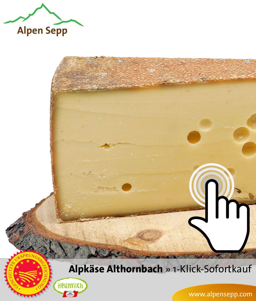 Bregenzerwälder Alpkäse Alpe Althornbach Sofortkauf