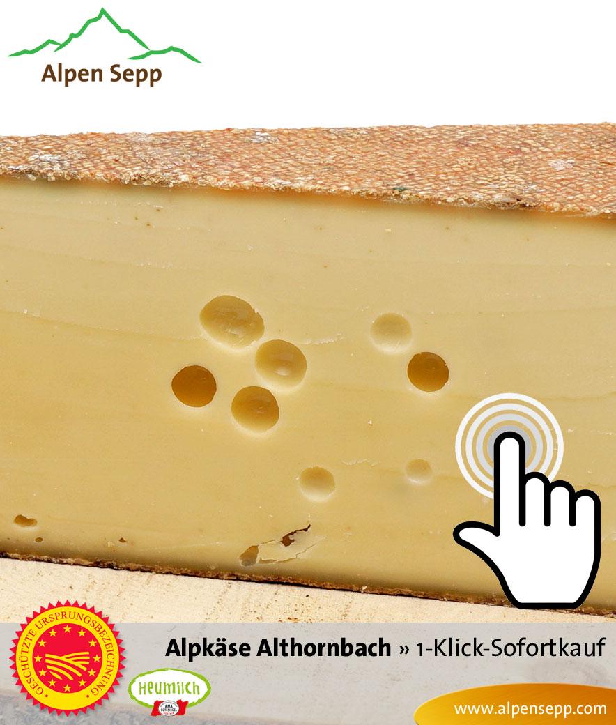 Alpkäse Alpe Althornbach Sofortkauf