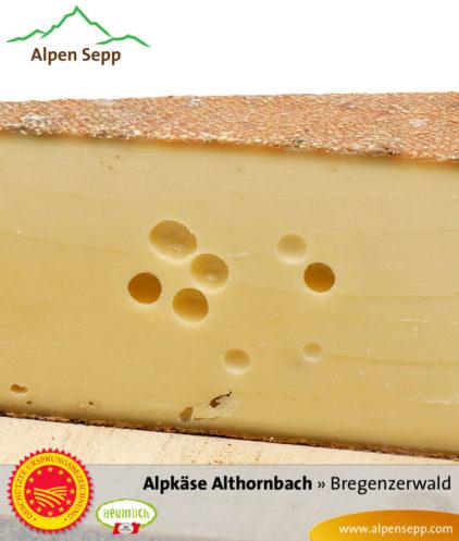 Bregenzerwälder Alpkäse Alpe Althornbach
