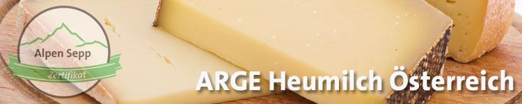 ARGE Heumilch Österreich im Käse Wiki vom Alpen Sepp