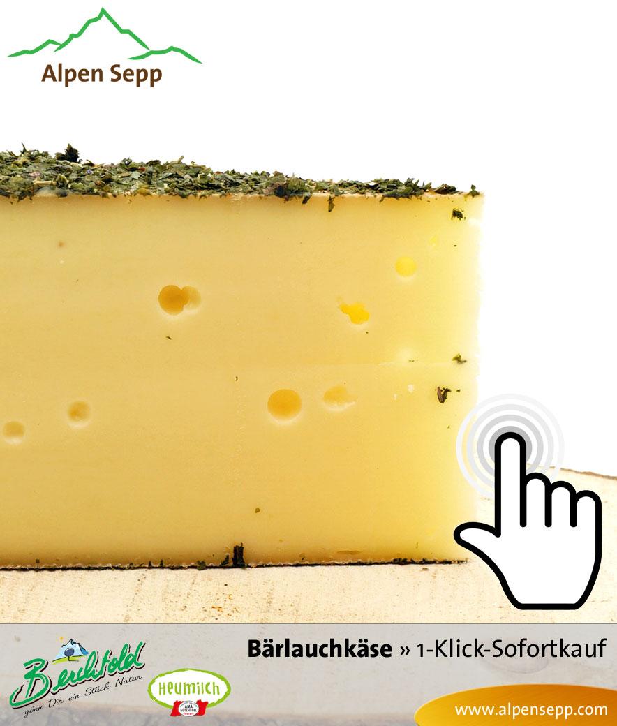 Bregenzerwälder Bärlauchkäse Sofortkauf
