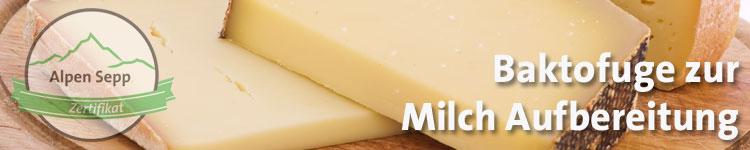 Baktofuge zur Milch Aufbereitung im Käse Wiki vom Alpen Sepp