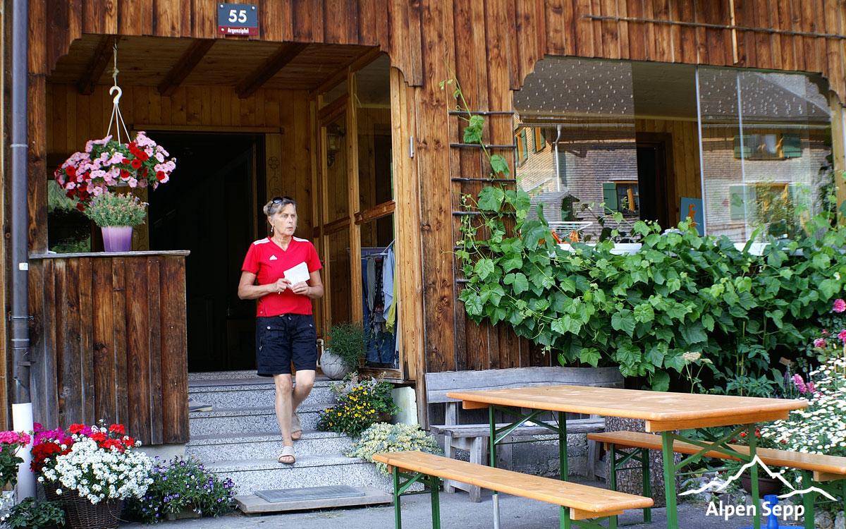 Urlaub am Bauernhof Berbig in Au im Bregenzerwald