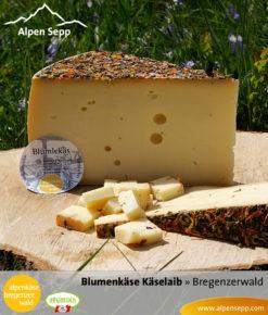 Bregenzerwälder Blumenkäse Käselaib