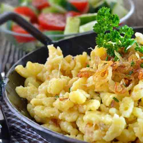 Bregenzerwälder Käsespätzle Rezept klein