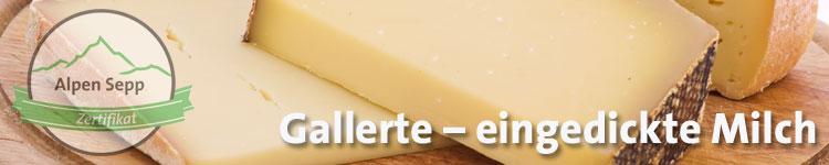 Gallerte - eingedickte Milch im Käse Wiki vom Alpen Sepp