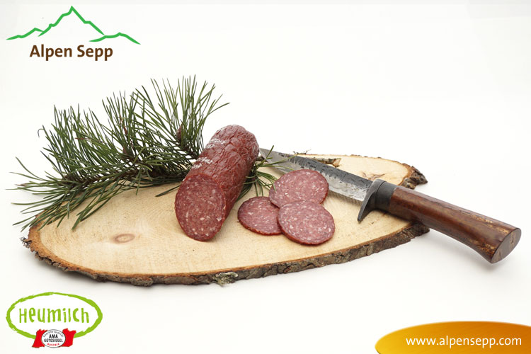 Bregenzerwälder Gams Salami
