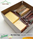 Bregenzerwälder Geschenk Box Alpen Sepp Alpenkäse und Rohwurst Wild