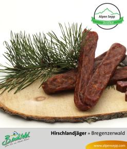 Bregenzerwälder Hirsch Landjäger