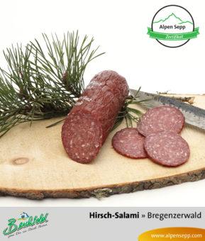 Bregenzerwälder Hirsch Salami