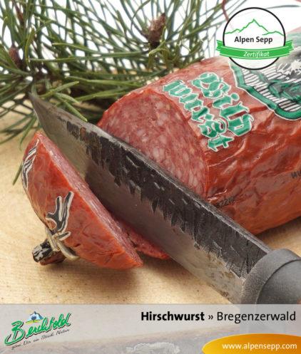 Bregenzerwälder Hirschwurst