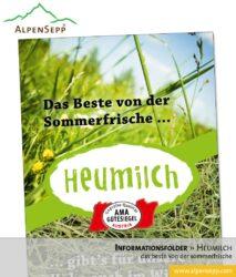 Heumilch Informationsfolder (Download)