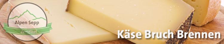 Käse Bruch brennen im Käse Wiki vom Alpen Sepp