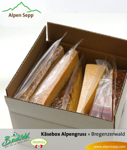 Bregenzerwälder Käsebox Alpengruss