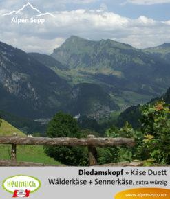 Käse-Duett Komposition Diedamskopf