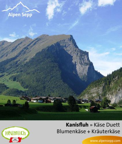 Käse-Duett Komposition Kanisfluh