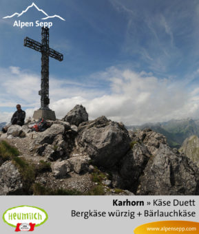 Käse-Duett Komposition Karhorn