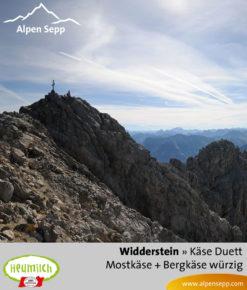 Käse-Duett Komposition Widderstein