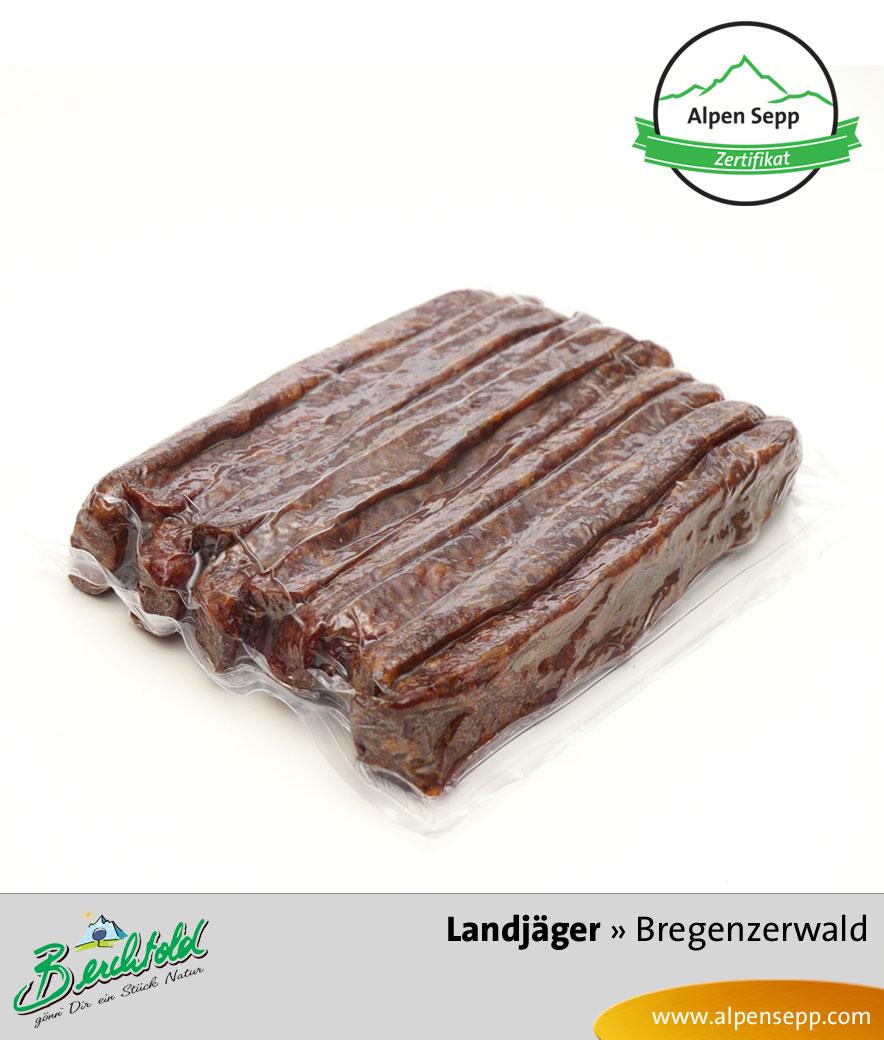 Bregenzerwälder Landjäger 5 Paar